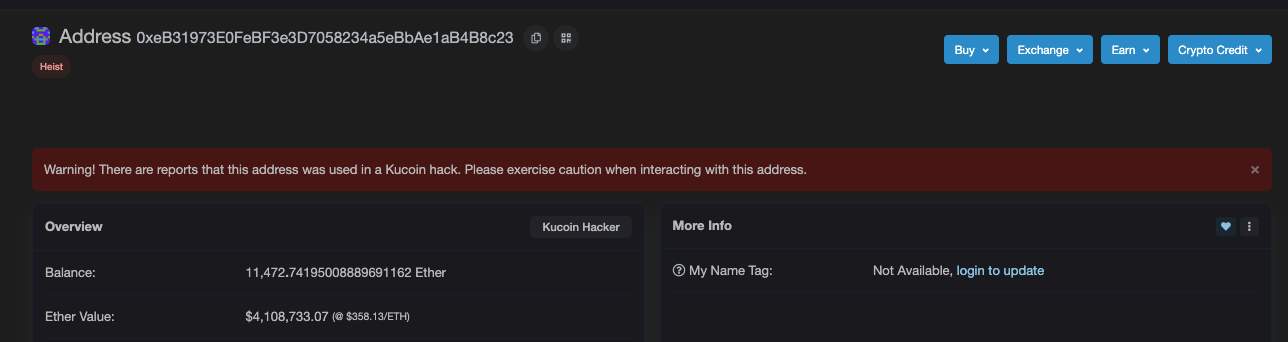 etherscan.io/address/0xeb31973e0febf3e3d7058234a5ebbae1ab4b8c23#tokentxns